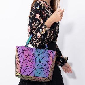 Incredible Holographic Luminous Purse
